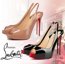 Christian Louboutin ルブタン Private Number 120mm パンプス