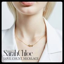 Sarah Chloe★3つのハート可愛いネックレスLOVE COUNT NECKLACE