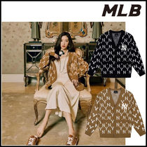 【MLB】monogram knit cardigan ★男女兼用★