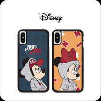 [ DISNEY ]Disney Mickey Minnie Vintage Hood Alum Case