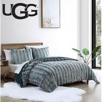 UGG【関税込】Landers Faux Fur 3-Piece Duvet Cover Set