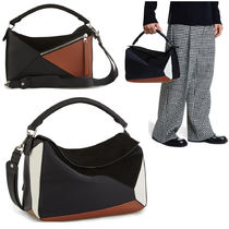 LOEWE PUZZLE BAG LARGE TRAINERS