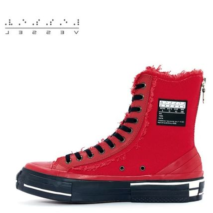 XVESSEL スニーカー 日本未入荷★XVESSEL G.O.P. Highs for Yohji Yamamoto RED(2)