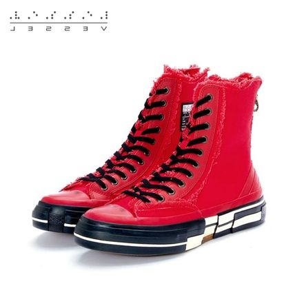 XVESSEL スニーカー 日本未入荷★XVESSEL G.O.P. Highs for Yohji Yamamoto RED(3)