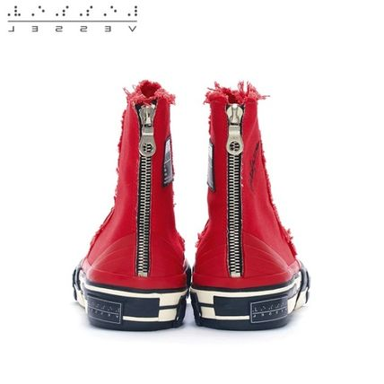 XVESSEL スニーカー 日本未入荷★XVESSEL G.O.P. Highs for Yohji Yamamoto RED(5)