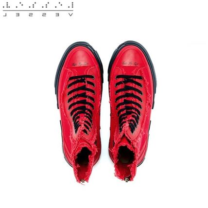 XVESSEL スニーカー 日本未入荷★XVESSEL G.O.P. Highs for Yohji Yamamoto RED(7)