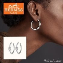 【HERMES】DHL発 ピアス「Creoles Chaine d'Ancre Enchainee」PM