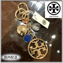 Tory Burch☆MULTI METAL LOGO KEY FOB キーホルダー☆送料込