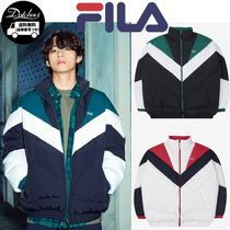 FILA Color Blocking Overfit Down YJ739 追跡付