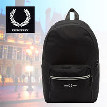 FRED PERRY(フレッドペリー) バックパック・リュック 【関税・送料込み】FRED PERRY Authentic Black Backpack