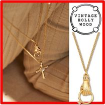 VINTAGE HOLLYWOOD☆Hold the Ring Chain Necklac.e☆ネックレス