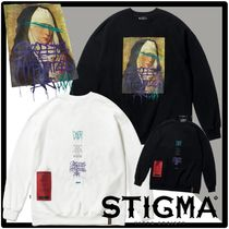 送料・関税込★STIGMA★PRAY OVERSIZED HEAVY SWEAT CREWNEC.K★