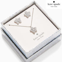 KS♥blooming pave studs ネックレスピアスセット 0087