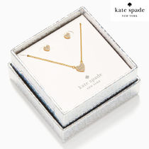 KS♥yours truly pave studs ネックレスピアスセット 0112
