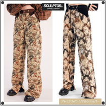 日本未入荷SCULPTORのFurry Friends Carpet Pants 全2色