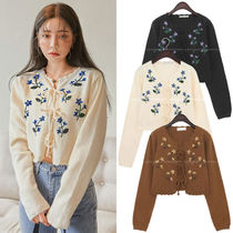 ★BLACKPINK リサ愛用★花柄 Ellon flower needle cardigan set