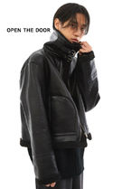 ◆ OPEN THE DOOR ◆ buckle neck mustang