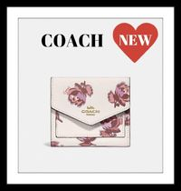 レア☆COACH☆Small Wallet With Floral Print 79430