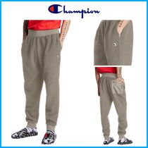 新作!! ★CHAMPION★ Sherpa Joggers, Embroidered Logo