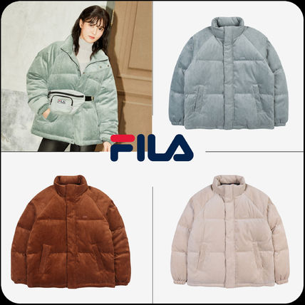 [ FILA ]★韓国大人気★CORDUROY DOWN JACKET