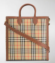 【BURBERRY】VINTAGE CHECK TOTE BAG