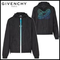 GIVENCHY ナイロン リング プリント ウィンドブレーカー