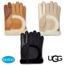 【UGG】SHEEPSKIN EXPOSED SEAM手袋♪選べる3色