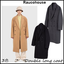 【RAUCOHOUSE】Double long coat