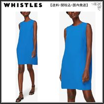 WHISTLES(ホイッスルズ) ワンピース 【海外限定】WHISTLESワンピース☆Sleeveless stretch-crepe min