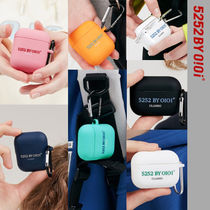 20-21FW★5252 by oioi★HERITAGE SERIF LOGO AIRPODS CASE_7色