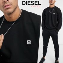 【DIESEL】S-Girk-K12Dバッジロゴスウェット 送料・関税込み