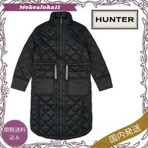 HUNTER☆LONG QUILTED コート【関税送料込】