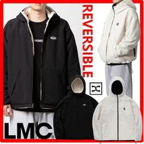 ★人気★【LMC】★LMC BOA FLEECE REVERSIBLE HOODED JACKE.T★