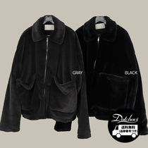 SCENERITY Silky Fur Jacket CA197 追跡付