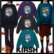 ★送料・関税込★KIRSH★ CASPER GRAPHIC SWEATSHIRT J.A★3色★