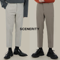 SCENERITY Simple Banding Slacks