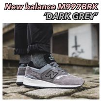 New balance ♡ made in USA M997 M997BRK ダークグレー