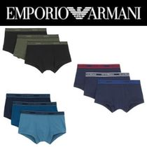 【EMPORIO ARMANI】3-PACK TRUNK MULTIPACK - CORE LOGOBAND