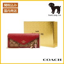 【COACH】Boxed Slim Envelope Wallet◆国内発送◆