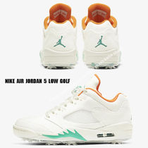 NIKE★JORDAN 5 LOW GOLF SAIL/STARFISH/NEPTUNE GREEN/OBSIDIAN