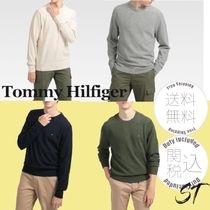 すぐ届く! Tommy Hilfiger EXTRAFINE SOFT WOOL セーター 全4色