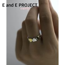 【E and E PROJECT】ツートンハートリング 送料・関税込み