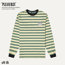 PLEASURES | HANGMAN PREMIUM STRIPED L/S T-SHIRT ロンT