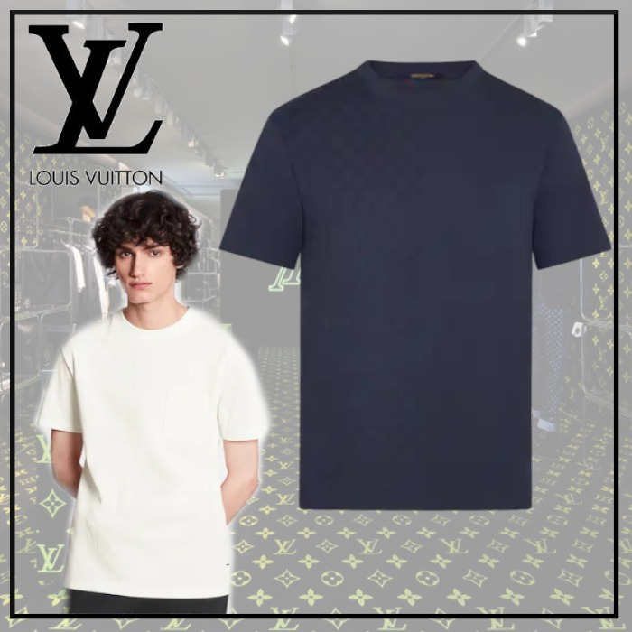 【20AW】新作 ダミエ Tシャツ◆ルイヴィトン◆全2色 (Louis Vuitton/Tシャツ・カットソー) 1A7XDZ  1A7XE7
