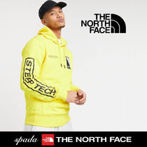 SALE【NORTH FACE】Step Tech ロゴ パーカー イエロー/ 送料無料
