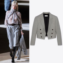 WSL1849 LOOK16 SPENCER JACKET IN CHINE WOOL TWILL