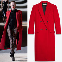 WSL1851 LOOK39 DOUBLE-BREASTED LONG COAT IN CASHMERE
