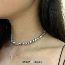 ★Brandy Melville SAFETY PIN チェーン ネックレス 送料込★