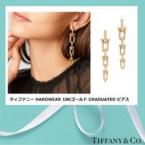 [Tiffany] ティファニー Hardwear 18K Gold Graduated ピアス