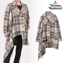 【VivienneWestwood】HARRIS TWEED BLANKET コート